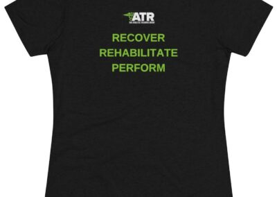 Women's Recover Rehab Perform Tee (Front & Back)